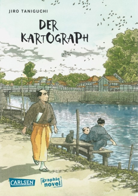 Der Kartograph Comic Graphic Novel