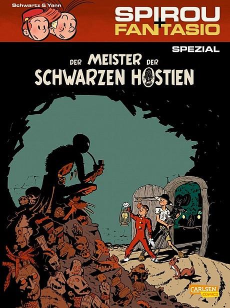 Spirou Spezial - Der Meister er schwarzen Hostien Comic
