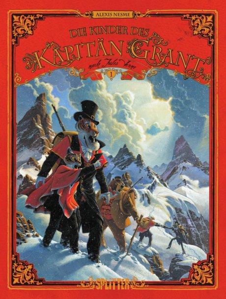 Die Kinder des Kapitän Grant Comic