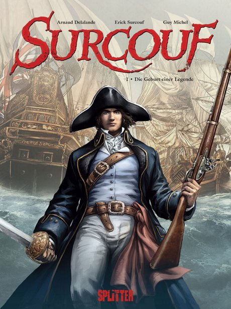 Surcouf Comic Cover