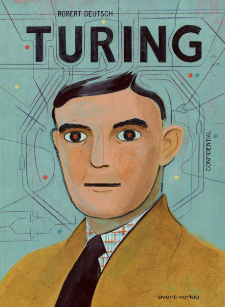 Alan Turing Graphic Novel Avant