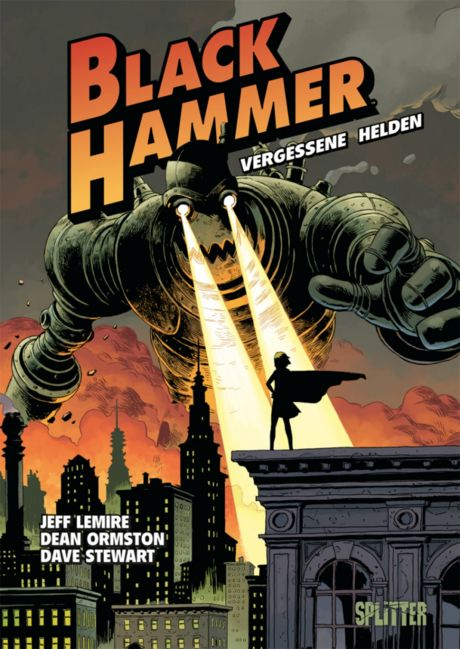 Black Hammer Comic Graphic Novel