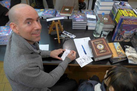 Craig Thompson Signierstunde 12. März 2016 bei Comics & Graphics Bild 1