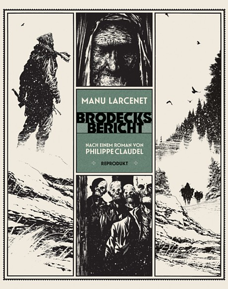 Brodecks Bericht Graphic Novel