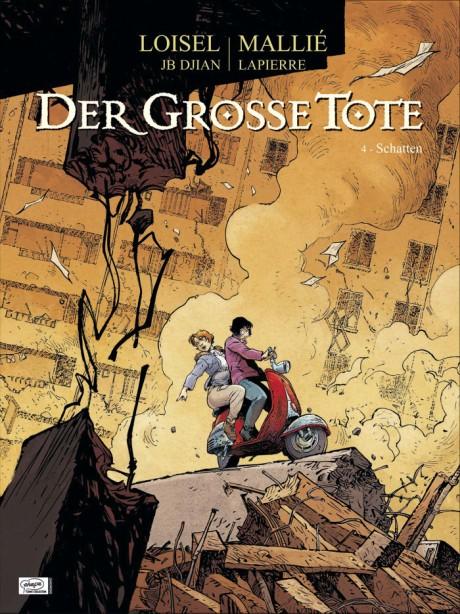 Der grosse Tote 4 - vorläufiges Cover