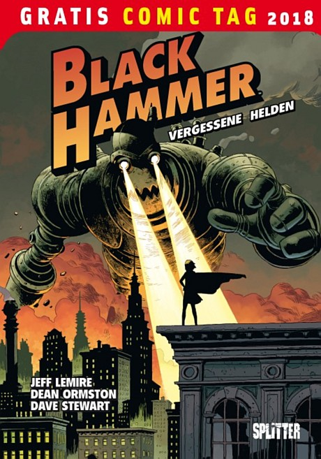 Black Hammer Gratis Comic Tag 2018