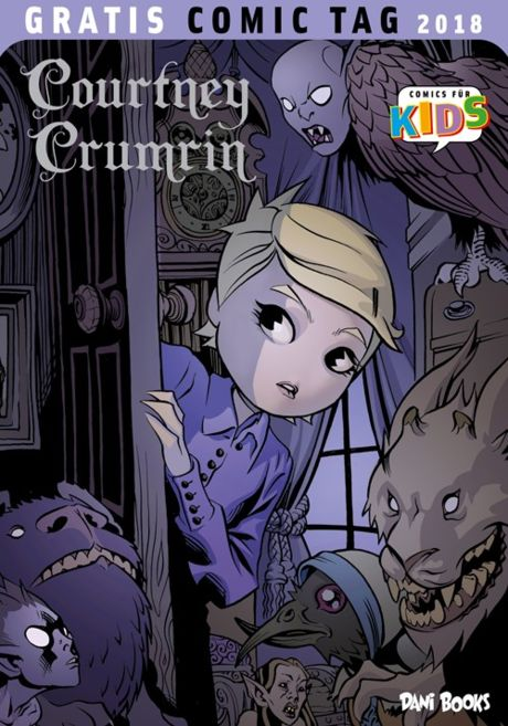 Curtney Crumrin Gratis Comic Tag 2018