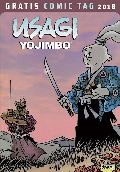 Usagi Yojimbo Gratis Comic Tag 2018