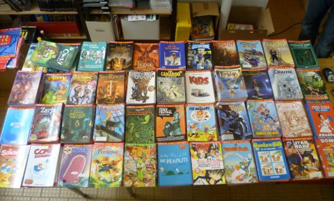 Die GCT-Comics 2011 auf einen Blick