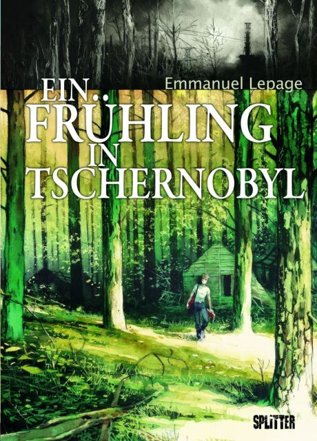 Ein Frühling in Tschernobyl Graphic Novel