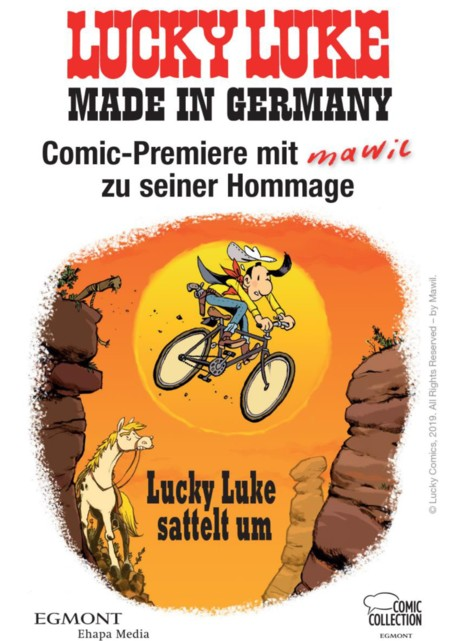 Lucky Luke Release Party mit Mawil am 2. Mai 2019 in Berlin