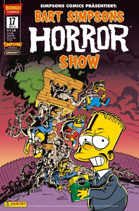 Simpsons Horror Show 17 Comic