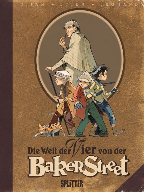 Die Welt der Vier von der Baker Street Comic Sonderband