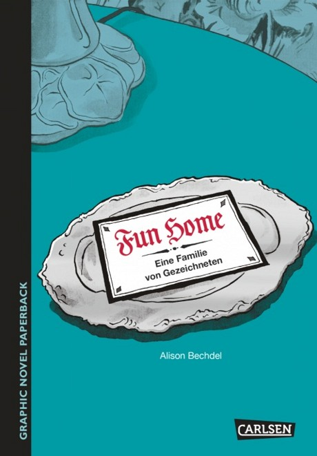 Fun Home Graphic Novel Comic