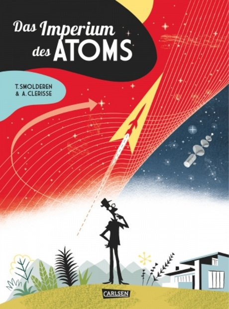 Das Imperium des Atoms Comic Graphic Novel Retro