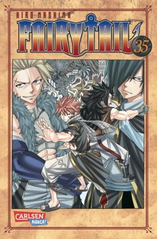 Fairy Tail 35 Manga
