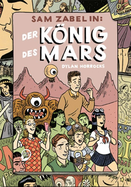 Sam Zabel in Der König des Mars Comic Graphic Novel