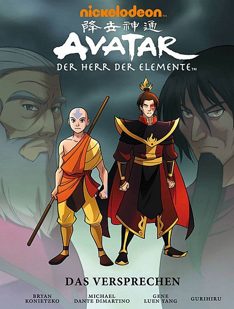Avatar del luxe Ausgabe Comic Graphic Novel