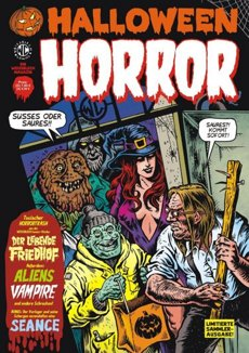 Halloween Horror Comic