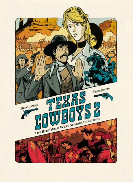 Texas Cowboys 2 Comic Graphic Novel