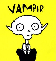 Vampir von Sfar Comic Graphic Novel