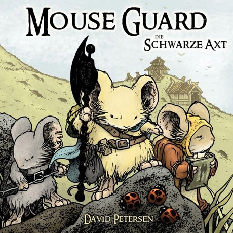 Mouse Guard Die Schwarze Axt Comic Graphic Novel