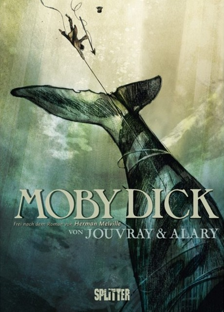 Moby Dick Graphic Novel Comic