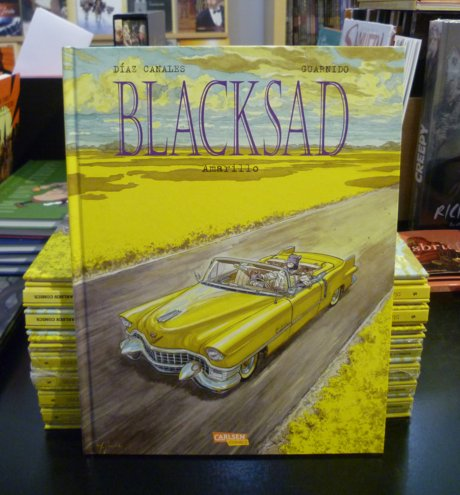 Blacksad 5 Comic Amarillo