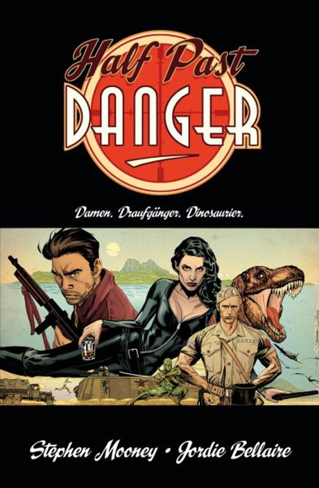 Half Past Danger Comic Graphic Novel