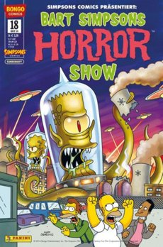 Bart Simpsons Horrorshow 18 Comic