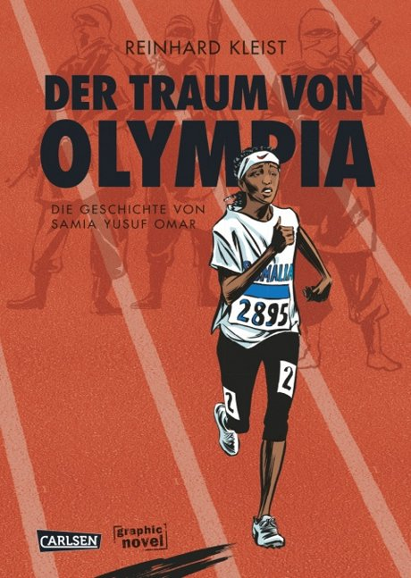 Traum von Olympia Comic Graphic Novel