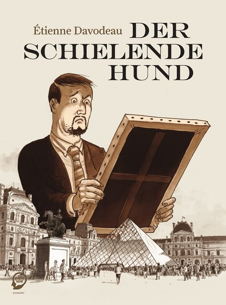 Der schlielende Hund Comic Graphic Novel