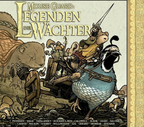 MouseGuard Legenden der Wächter 2 Comic Anthologie