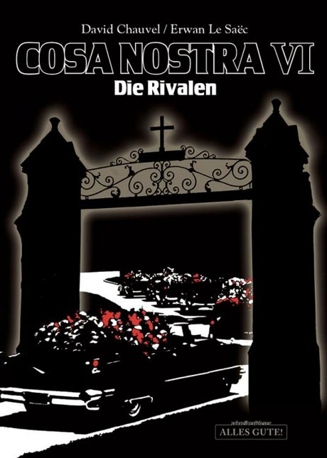 Cosa Nostra VI Comic Graphic Novel