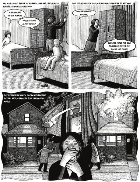 Vaterland Graphic Novel Probeseite