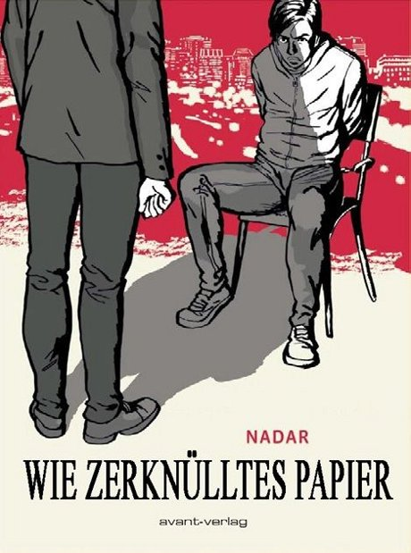 Wie zerknülltes Papier Graphic Novel