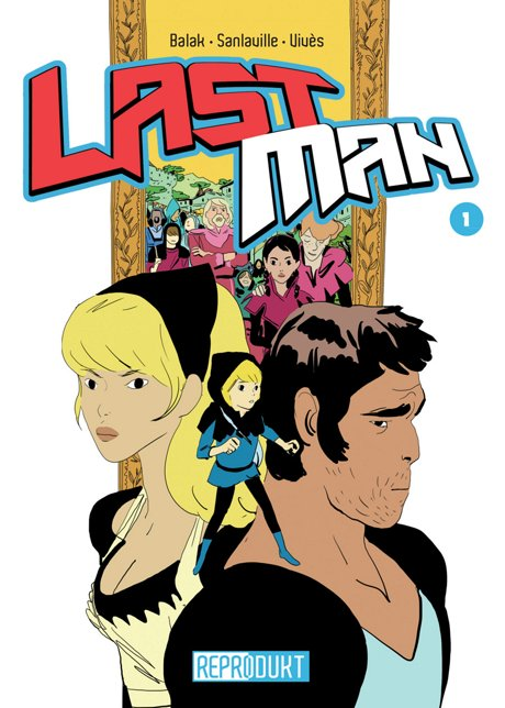 LastMan Comic Graphic Novel