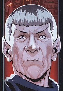Leonard Nimoy aka Mr. Spock Coverausschnitt Mr. Spock CrossCult