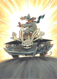 Sam and Max Kunstdruck - Surfin' The Highway