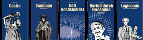 Süddeutsche Graphic Novel Edition 2 - Band 1 bis 5